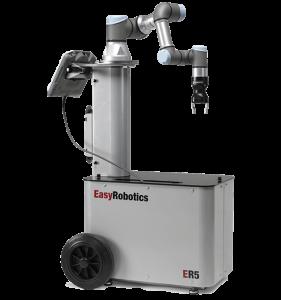 EASYROBOTICS ER5 - compact mobiel werkstation met robot arm