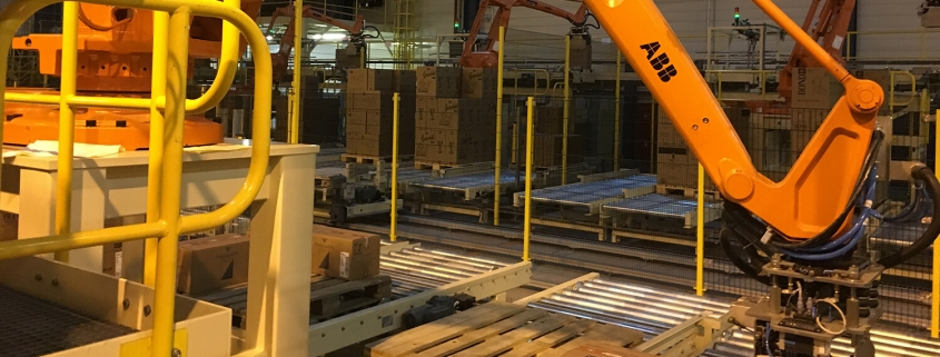 Cobot Palletizer, procesautomatisering, robotica advies, robotics process automation