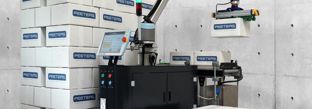 Cobot, Peeters Robotics, procesautomatisering, robotica advies, robotics process automation